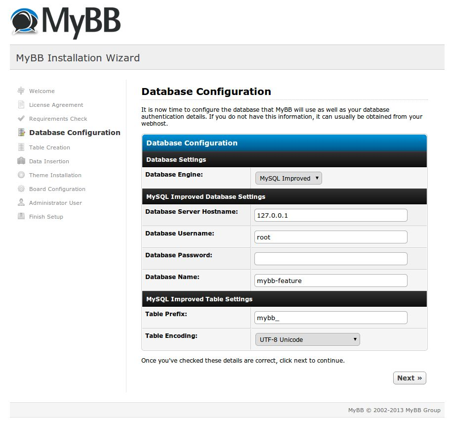 Install - MyBB Documentation
